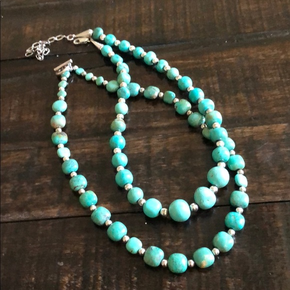 Jewelry - Set of 2 Turquoise Necklaces